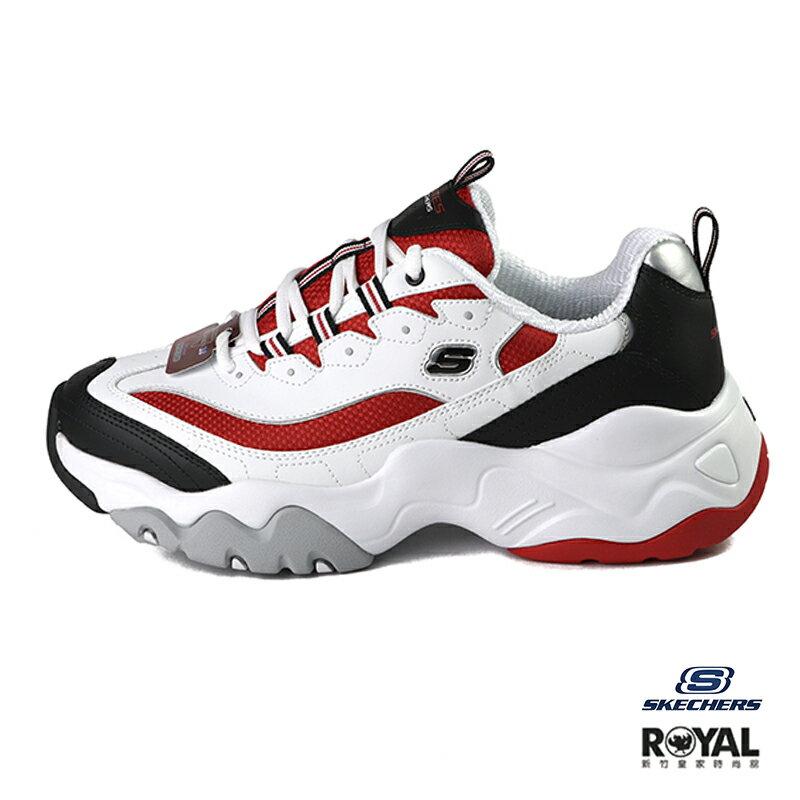 Skechers D'ltes 3.0 白色 皮質 老爹 休閒鞋 男款 NO.B1364【新竹皇家 52684WBRD】