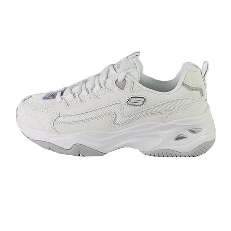 Skechers SKECHERS D'LITES 4.0 白色  透氣  厚底  休閒鞋 女款 NO.J0830【新竹皇家 149491WHT】