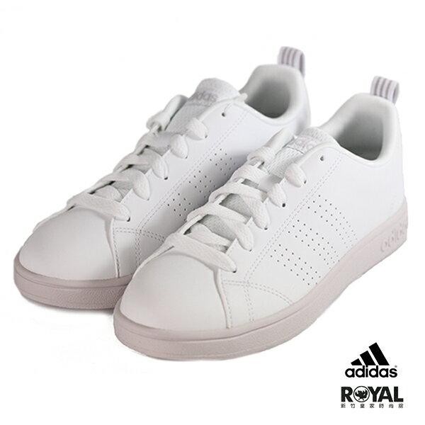 Adidas新竹皇家Advantage白粉紫色運動休閒鞋女款No.I9154