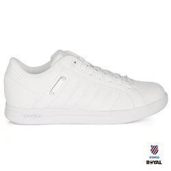 K-SWISS 新竹皇家 LUNDAHL 經典白 皮革 休閒鞋 女款 NO.I8321