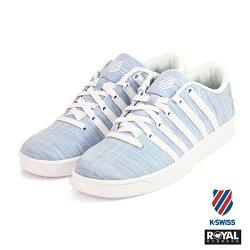 K-SWISS 新竹皇家 CourtProⅡ 天藍色 布質 休閒鞋 女款 NO.I8323