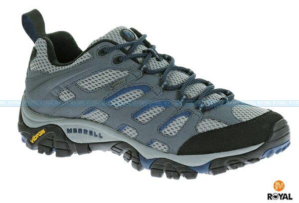 MERRELL 新竹皇家 MOAB GORE-TEX 灰色 防水 運動鞋 男款 NO.A6484
