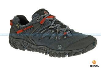 MERRELL 新竹皇家 ALL OUT BLAZE GORE-TEX 藍灰 防水 運動鞋 男款 NO.A6831