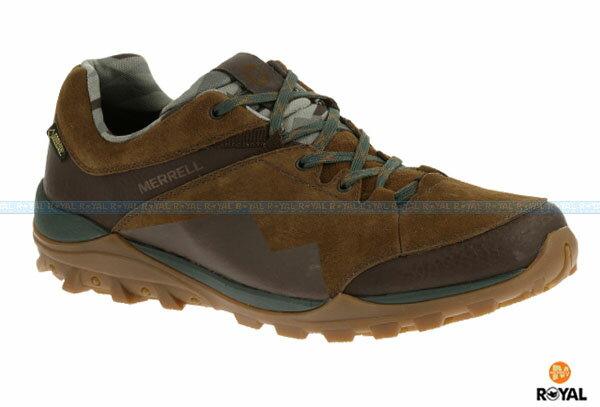 MERRELL 新竹皇家 FRAXION GORE-TEX 咖土色 防水 運動鞋 男款 NO.A6941