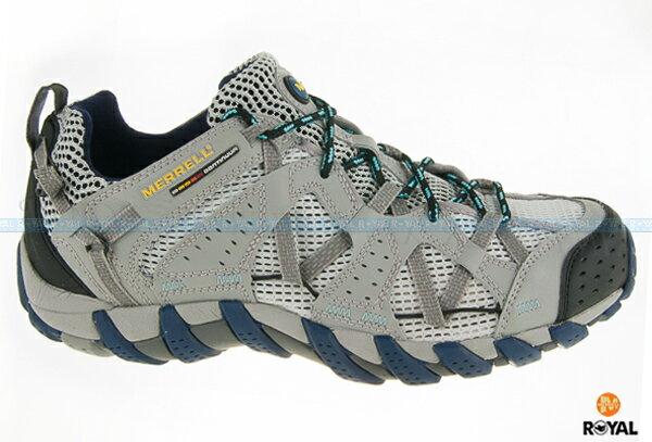 MERRELL 新竹皇家 WATERPRO MAIPO 灰色 快乾排水 水陸兩棲 運動鞋 男款 NO.A7513