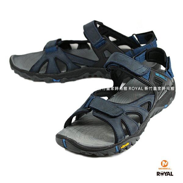 MERRELL 新竹皇家 ALL OUT BLAZE SIEVE 深藍 水陸兩棲 涼鞋 男款 NO.A8750