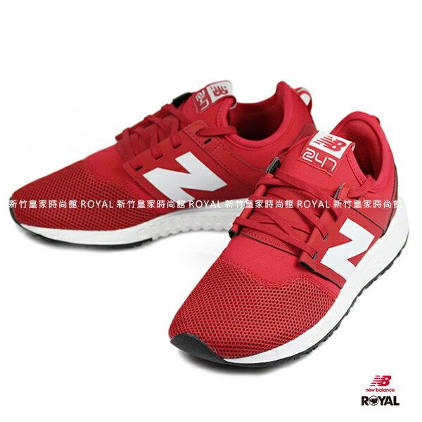 <br/><br/>  New Balance 247 新竹皇家 紅色 透氣網布 運動鞋 男女款 NO.A8754<br/><br/>