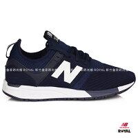 New Balance 美國慢跑鞋/跑步鞋推薦New Balance 247 新竹皇家 深藍 套入式布質 輕量 慢跑鞋 男女款 NO.A9497