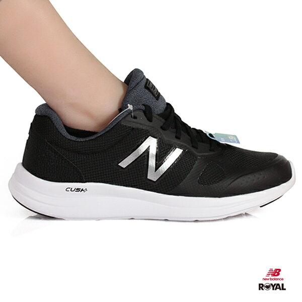 NewBalance新竹皇家VERSI全黑色網布輕量運動鞋男款NO.A9830