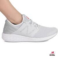 New Balance 美國慢跑鞋/跑步鞋推薦New Balance 新竹皇家 CRUZ 白色 織布 輕量 運動鞋 女款 NO.I8868
