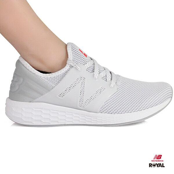 NewBalance新竹皇家CRUZ白色織布輕量運動鞋女款NO.I8868