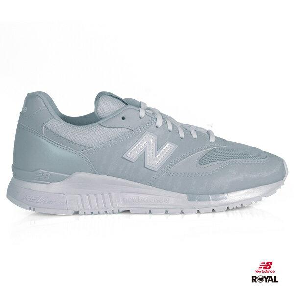 NewBalance新竹皇家840藍灰色晶透網布輕量慢跑鞋女款NO.I8417
