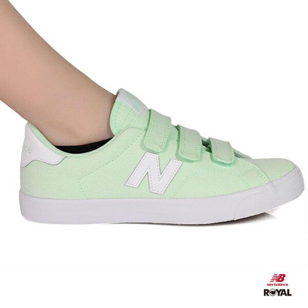 NewBalance新竹皇家210蘋果綠魔鬼氈帆布鞋女款NO.I8792