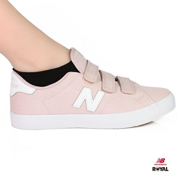 NewBalance新竹皇家210粉紅色魔鬼氈帆布鞋女款NO.I8794