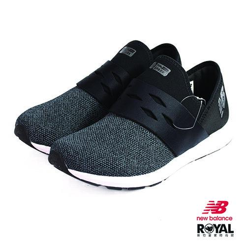 NewBalance新竹皇家WXSPKBH黑色織布套入式運動鞋女款NO.I9101