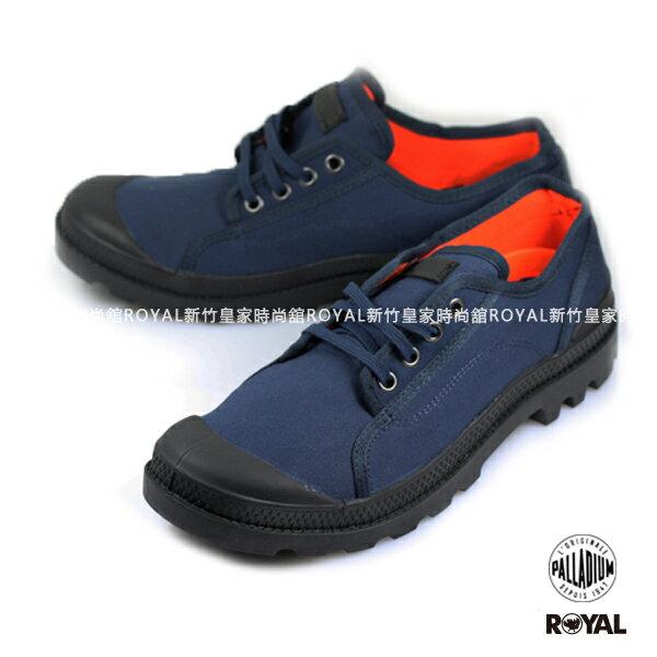 Palladium 新竹皇家 PAMPA M65 OXFORD 深藍 布質 休閒鞋 低筒 男款 NO.A8624
