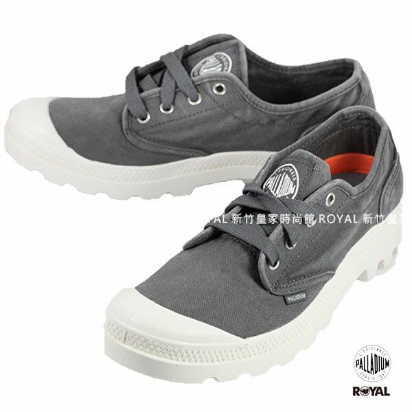 Palladium 新竹皇家 PAMPA 灰色 布質 休閒鞋 低筒 男款 NO.A9036