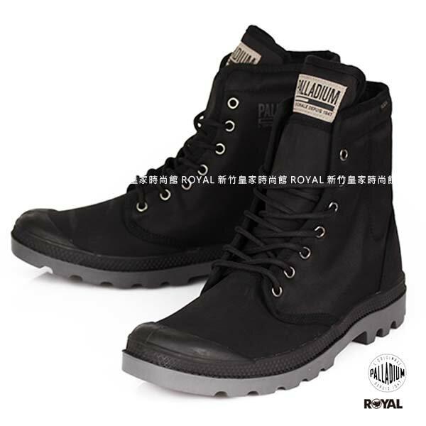 Palladium 新竹皇家 PampaSoild 黑色 布質 零錢包  高筒靴 男女款 NO.A9323