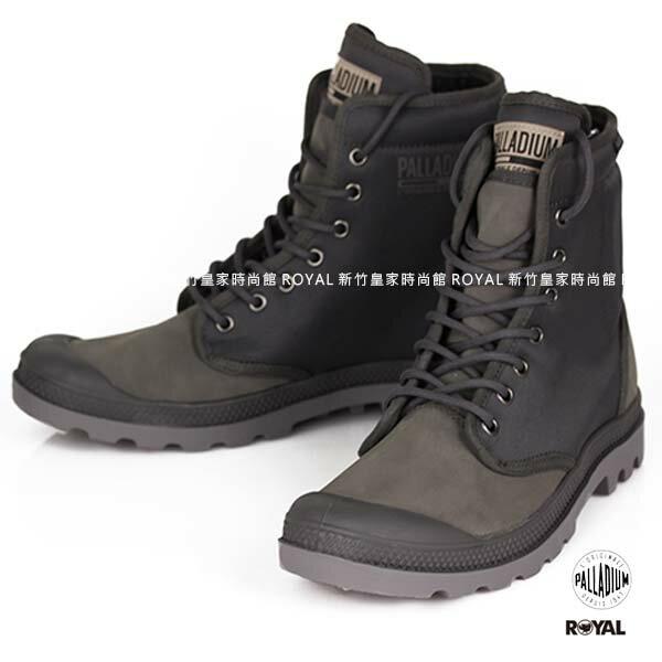 Palladium 新竹皇家 PampaSoild 灰色 布質 零錢包  高筒靴 男款 NO.A9324