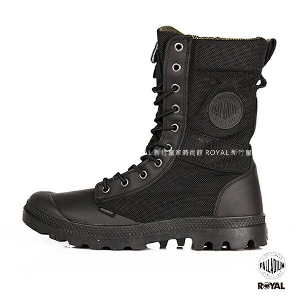 Palladium 新竹皇家 Pampa Tactical 黑色 側邊拉鍊 戰鬥靴 男款 NO.A9380