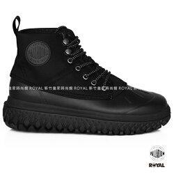 Palladium 新竹皇家 Crushion Scrmbl 黑色 防水系列 輪胎底 軍靴 男款 NO.A9464