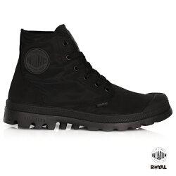 Palladium 新竹皇家 PampaPuddle 防水系列 黑色 雨傘布 輕量靴 男女款 No.A9646