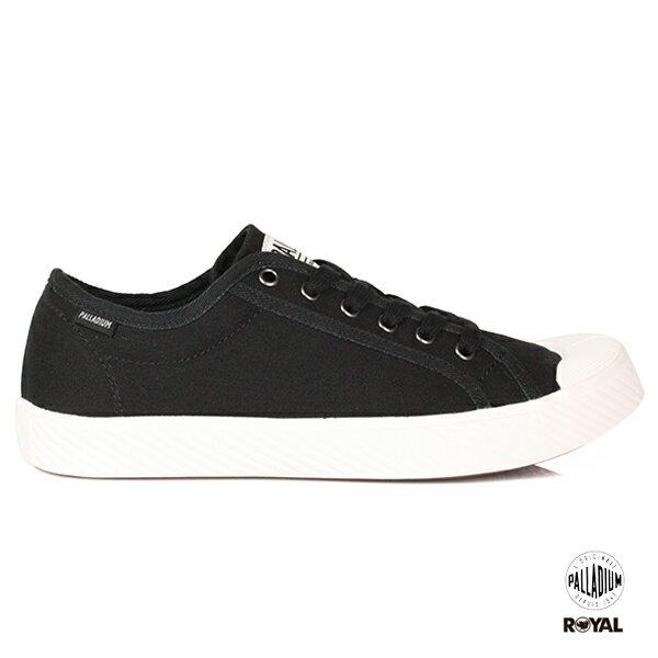 Palladium新竹皇家Pallaphoenix黑色布質麂皮休閒鞋男女款No.A9701