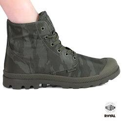 Palladium 新竹皇家 PampaPuddle 防水系列 綠迷彩 雨傘布 輕量靴 男女款 No.A9713