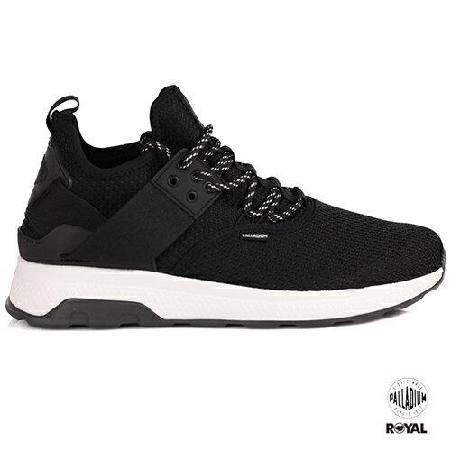 Palladium新竹皇家AX_ENOLACE黑色織布休閒運動鞋男女款NO.A9946-I9025