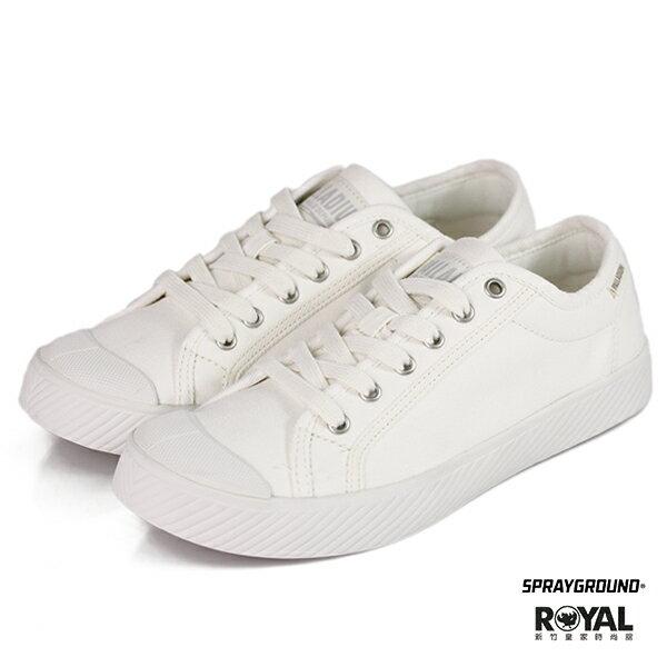 Palladium新竹皇家Pallaphoenix白色帆布小白鞋休閒鞋男女款NO.B0040