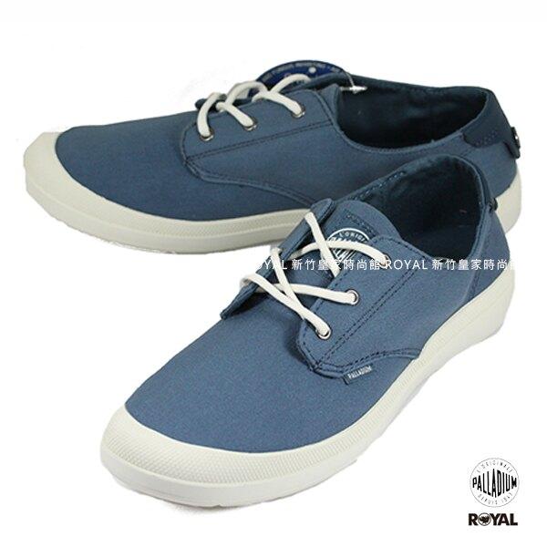 Palladium 新竹皇家 VOYAGE 旅行系列 藍色 布質 低筒 休閒鞋 女款 NO.I7727【12/1-31 單筆滿2000結帳輸入序號 XmasGift-outdoor 再折↘250 | ..