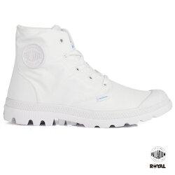 Palladium 新竹皇家 PampaPuddle 防水系列 白色 雨傘布 輕量靴 女款 No.I8424