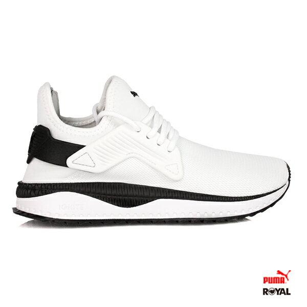 PUMA新竹皇家TSUGICage白色網布套入式運動休閒鞋男女款.A9732