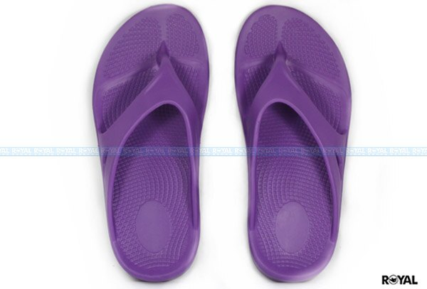 ROYAL 新竹皇家自訂款 紫 橡膠 蹺蹺板 夾腳拖鞋 女款 NO.I6811