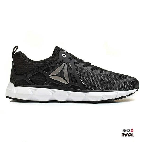 Reebok新竹皇家Hexaffect黑色網布運動鞋男款NO.A9536