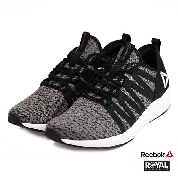 Reebok新竹皇家AstrprideFuture黑色織布套入式運動鞋男款NO.A9929