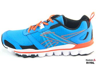Reebok 新竹皇家 HEXAFFECT RUN 藍色 Running 潮流鞋 女款 NO.I5334