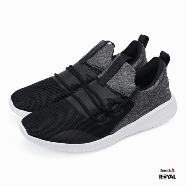 Reebok 新竹皇家 SKYCUSH 黑色 網布 布質 健走鞋 女款 NO.I8042 1
