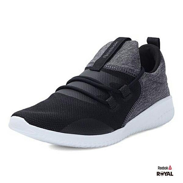 Reebok 新竹皇家 SKYCUSH 黑色 網布 布質 健走鞋 女款 NO.I8042 2