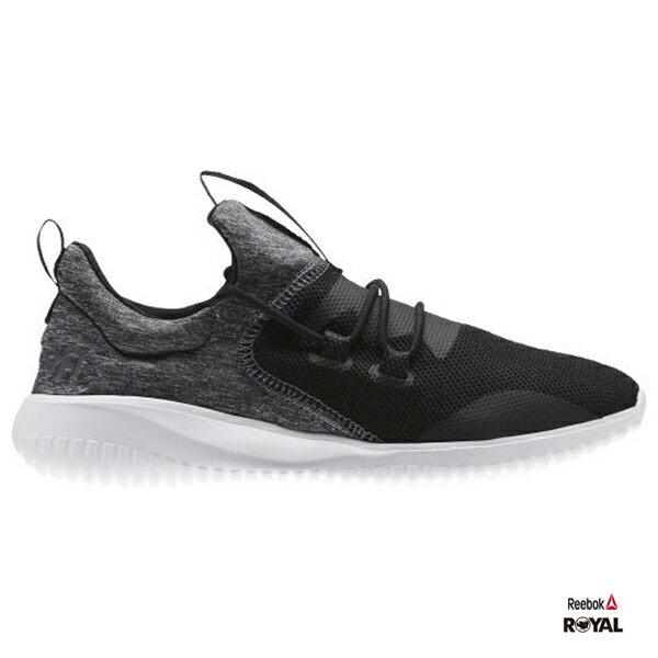 Reebok 新竹皇家 SKYCUSH 黑色 網布 布質 健走鞋 女款 NO.I8042 0