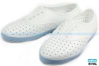 native 輕量懶人鞋、休閒防水鞋到Native 新竹皇家 JERICHO 白/藍 輕量 懶人鞋 女款 NO.I7095