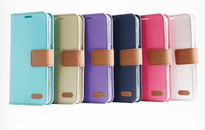 【清倉】三星 J7 Prime G610 韓國Roar斜格紋支架插卡保護皮套 Samsung J7 Prime 保護套 手機套