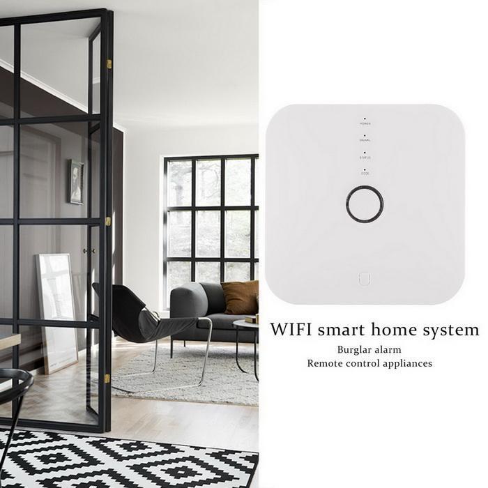 Smart WIFI home wireless burglar alarm 2