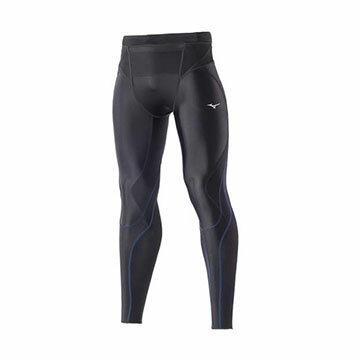 K2MJ7B0192(黑X藍)高支撐性及活動自如的BG5000II第二代男緊身褲【美津濃MIZUNO】