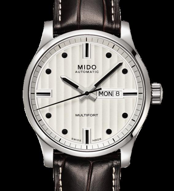 MIDO 美度 Multifort 先鋒系列經典機械手錶 M0054301603180 銀 咖啡 42mm 0