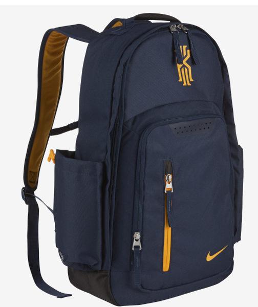 Nike KYRIE IRVING 背包 後背包 限量 雙肩 騎士 厄文 深藍 黃 【運動世界】BA5133-410