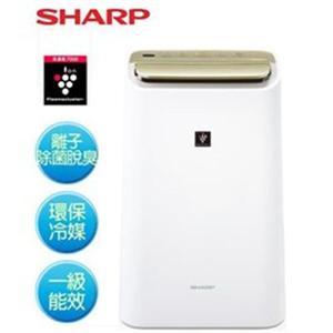SHARP 10公升HEPA除菌除濕機DW-E10FT-W