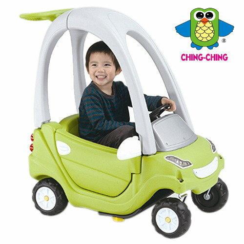 【淘氣寶寶】【CHING-CHING親親】嘟嘟車/滑步車/學步車(全配/一級料/綠色) (CA-11G)