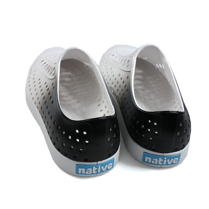 native JEFFERSON OMBRE 懶人鞋 洞洞鞋 白 / 灰 漸層 男女鞋 11100147-1958 no978 1
