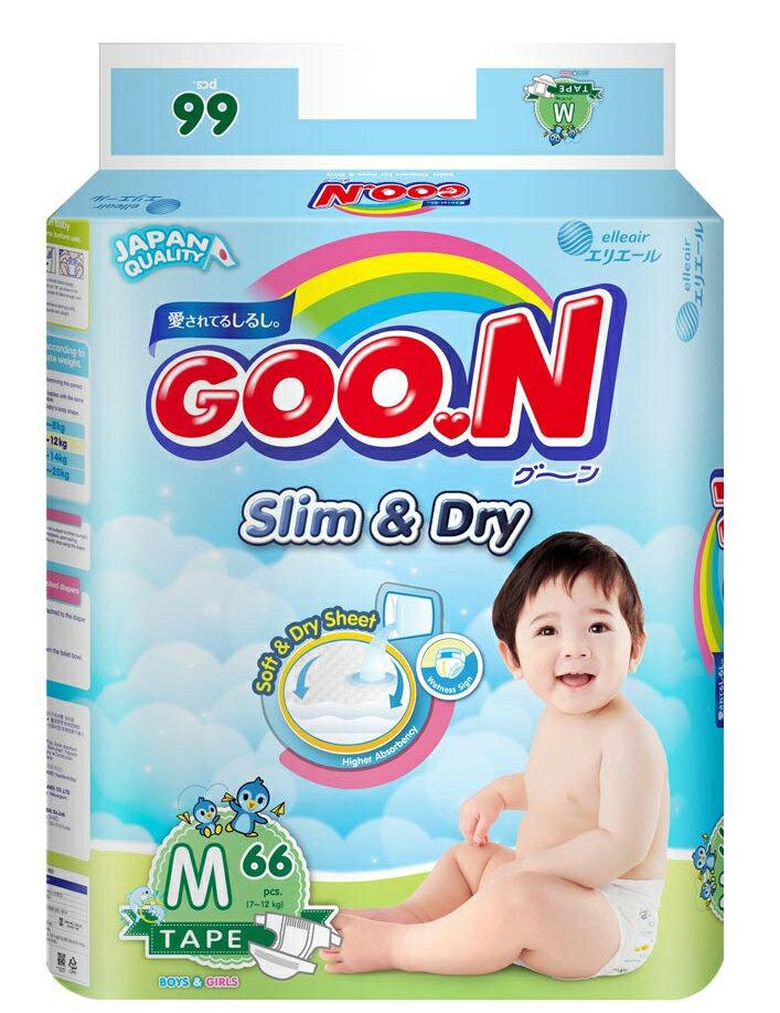日本大王 國際版 紙尿褲 尿布 大包裝 M66 片/包